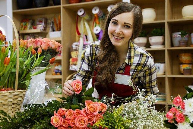 חנות פרחים באזור ירושלים